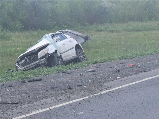 В ДТП под Самарой погиб пассажир легковушки
