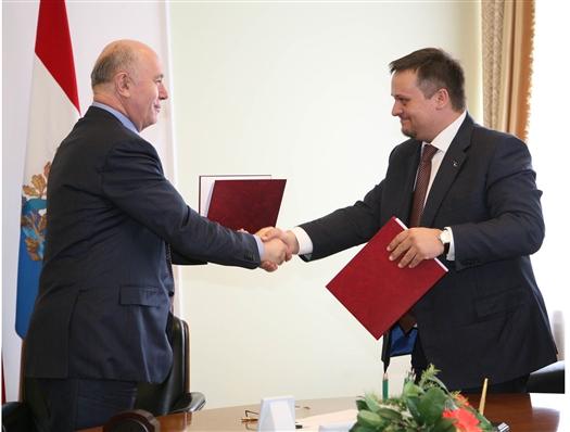 Николай Меркушкин подписал соглашение о сотрудничестве с Агентством стратегических инициатив