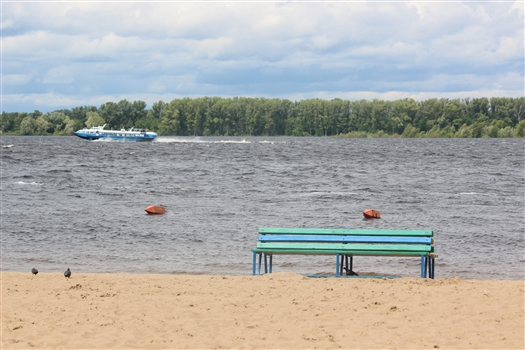 Уровень воды в Волге около Самары за день повысится на 1-1,5 метра