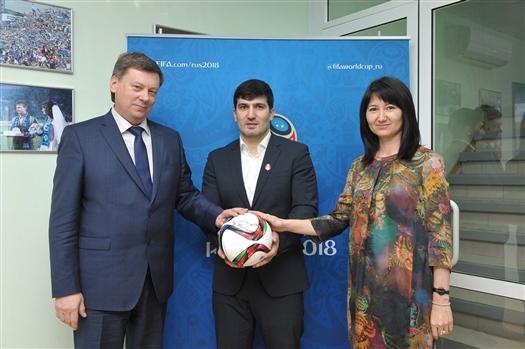 Дзюдоист Тагир Хайбулаев стал послом Самары на ЧМ-2018 по футболу