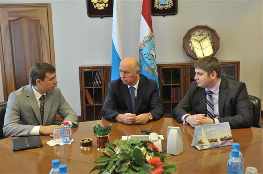 Губернатор обсудил перспективы создания кластеров с замминистра экономического развития РФ