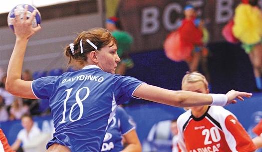 Екатерина Давыденко неплохо сыграла против датчанок
