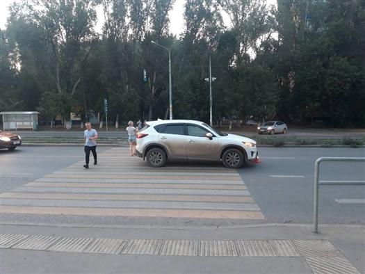 В Самаре под колеса автомобиля угодил юный велосипедист