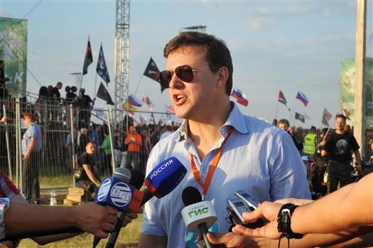 """Дмитрий Азаров: """"Я уверен, что """"Рок над Волгой"""" станет самым крупным фестивалем в мире"""""""