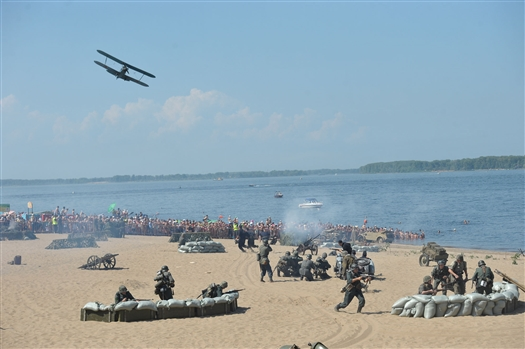 В Самаре масштабно отметили День Военно-Морского флота