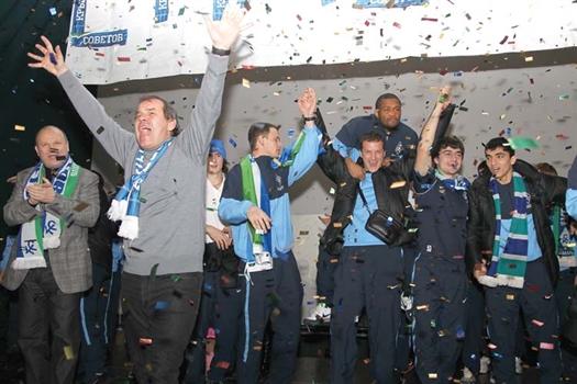 Радости Виктора Развеева и футболистов самарской команды не было предела.