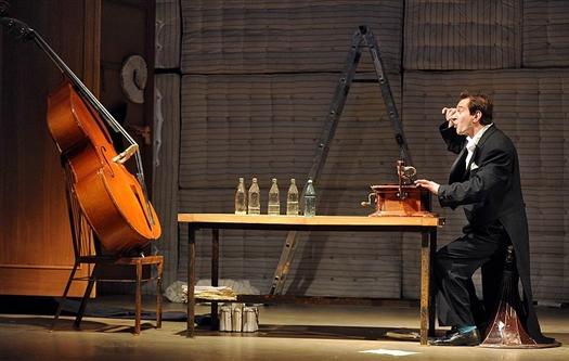 Константин Хабенский с контрабасом выступил в Самарской опере