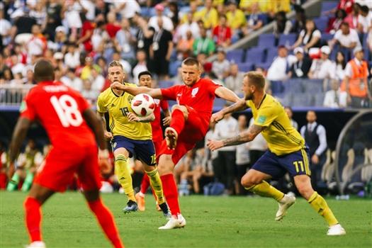 Сборная Англии впервые с 1990 года вышла в полуфинал ЧМ