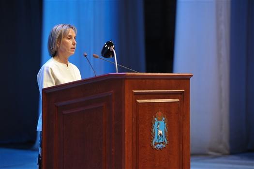"""Людмила Огородова - самарским педагогам: """"Ваши инициативы, ваши усилия, ваша эффективность заметны всей стране"""""""