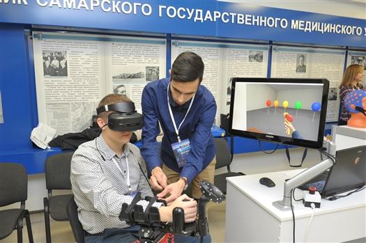 На конференции в Самаре представили тренажеры с эффектом виртуальной реальности
