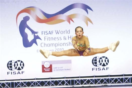 Участница чемпионата мира Анна Осипкина предстала перед самарской публикой.