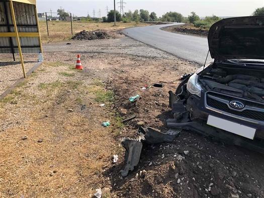 Водитель Subaru сбил женщину на остановке в Самарской области
