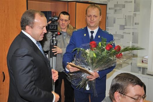 Александр Курылин поздравил Дениса Авдеева с назначением
