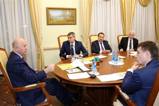 """Губернатор провел совещание по развитию ТОР """"Тольятти"""""""