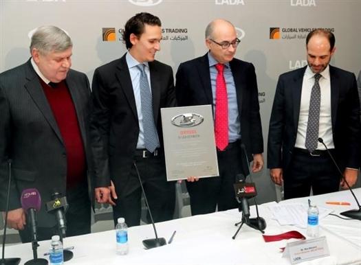 В Иордании открылся первый автосалон Lada