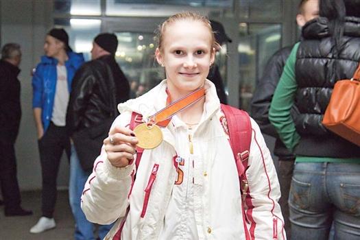 Анна Дементьева, чемпионка мира.