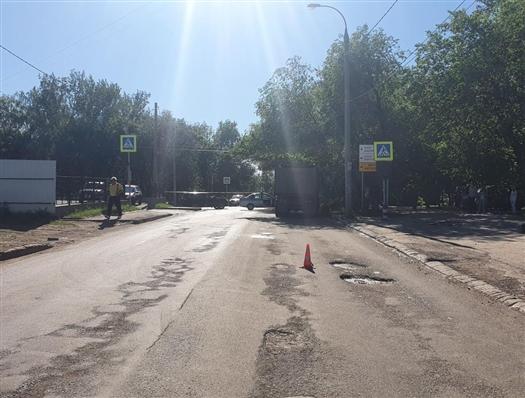 В смерти пешехода на ул. Партизанской могут обвинить водителя грузовика