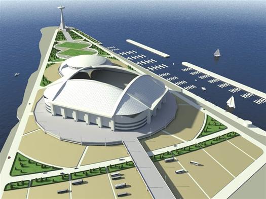 Победитель конкурса должен будет разработать не менее трех альтернативных вариантов архитектурно-планировочных решений спортсооружения