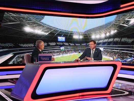 """Дмитрий Азаров: """"Важно, чтобы к управлению стадионом пришла эффективная команда"""""""