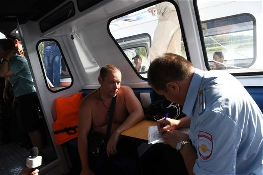 В Самаре ГИМС и судебные приставы ловят нарушителей на воде