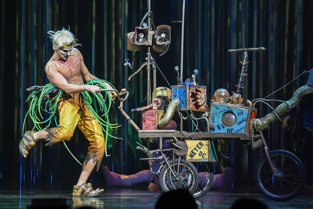 Смотритель неба (Андрей Кислицин). Фото предоставлено Cirque du Soleil