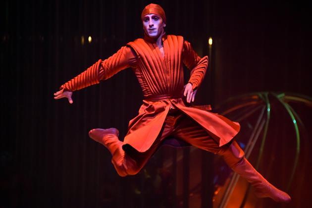 Грузинский танец. Фото предоставлено Cirque du Soleil