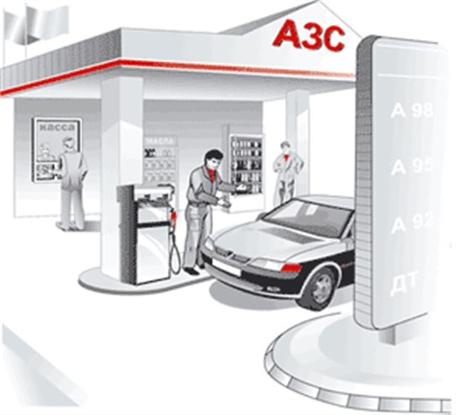 Средняя стоимость бензина в Самаре составляет 22,8 руб./ л