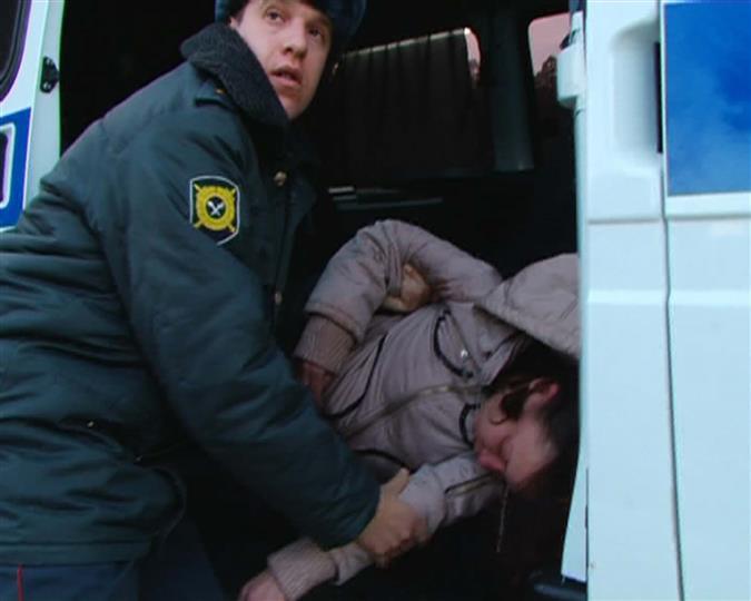 По дороге в полицию Юлия потеряла сознание